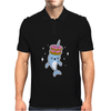 Narwhal Donuts Kawaii Cute Unicorn Harajuku Sweet Cool Awesome Mens Polo