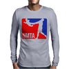 National Midget Tossing Association Funny Mens Long Sleeve T-Shirt