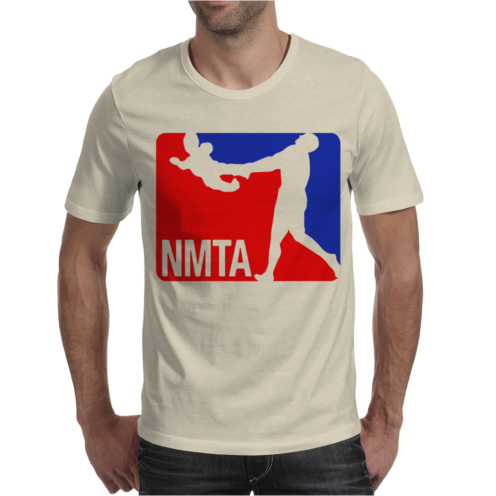 National Midget Tossing Association Funny Mens T-Shirt
