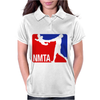 National Midget Tossing Association Funny Womens Polo