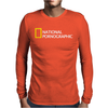 National Pornographic Mens Long Sleeve T-Shirt