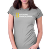 National Pornographic Womens Fitted T-Shirt