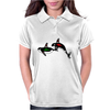 Native Whales Womens Polo