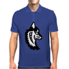 Native Wolf Mens Polo