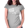 Natural Born Trucker Womens Fitted T-Shirt