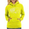 Natural Born Trucker Womens Hoodie