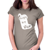 NAUGHTY BUT NIC Womens Fitted T-Shirt
