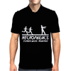 Necrophiliacs Zombies worst nightmare Funny comic horror undead Mens Polo