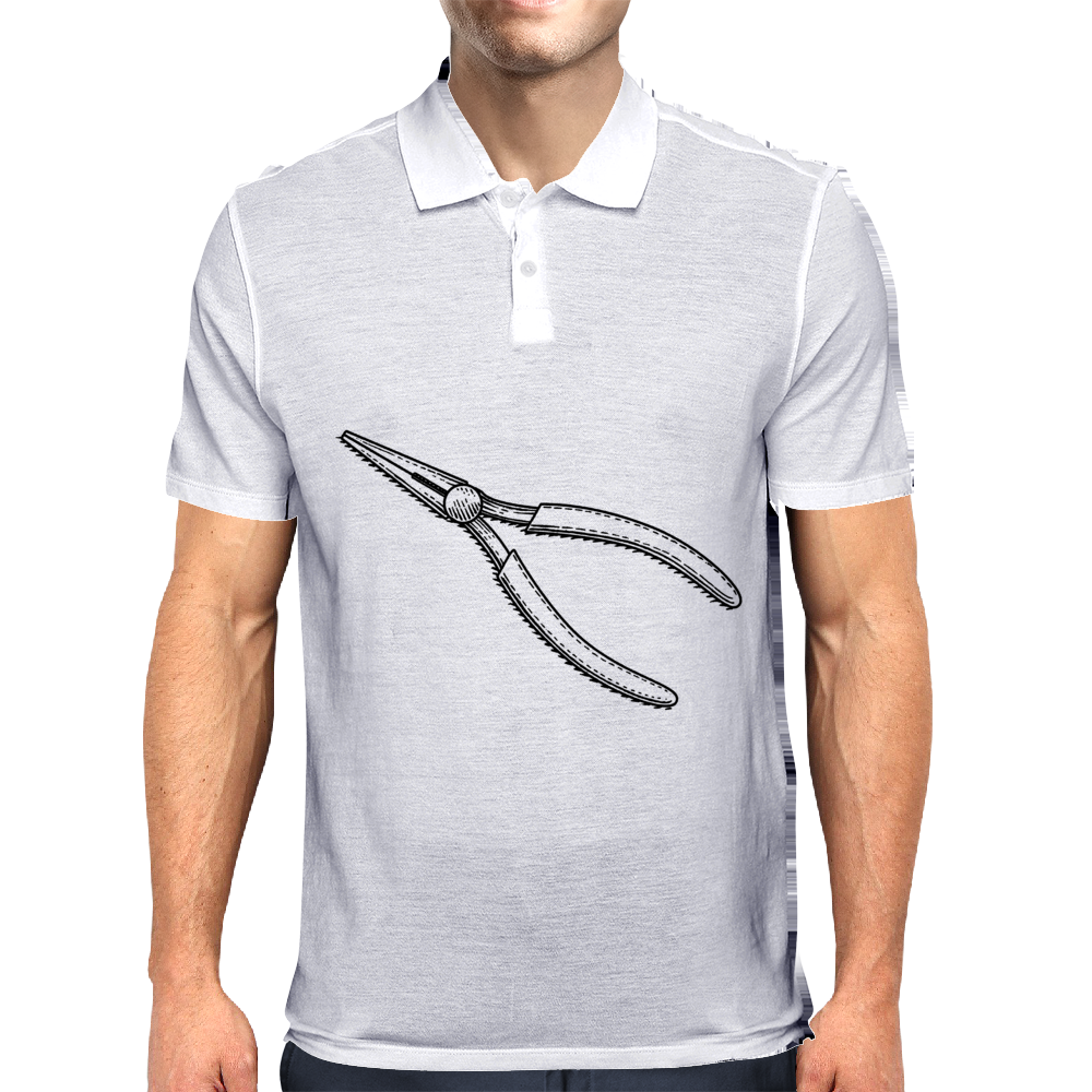 Needle nose pliers Mens Polo