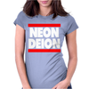 Neon Deion Sanders Primetime Atlanta Sf Womens Fitted T-Shirt
