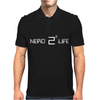 Nerd 4 Life - techie smart intelligent math calculus quantum formula tee Mens Polo