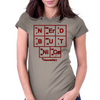 Nerd But Nice big Womens Fitted T-Shirt