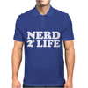Nerd For Life Mens Polo