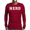 Nerd Mens Long Sleeve T-Shirt
