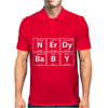 Nerdy Baby Mens Polo