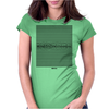 Nervous Womens Fitted T-Shirt