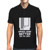 NES Games were better Unisex Mens Polo