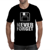 Never Forget 3.5 Floppies Mens T-Shirt