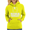 Never Forget 3.5 Floppies Womens Hoodie