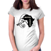Never Forget Africa Womens Fitted T-Shirt