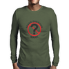 Never Question Mark Mens Long Sleeve T-Shirt