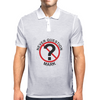Never Question Mark Mens Polo