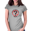 Never Question Mark Womens Fitted T-Shirt