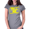 Never tell me the odds. Womens Fitted T-Shirt