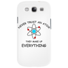 Never trust an atom brb Phone Case