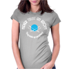 Never Trust an Atom They Make Up Everything Womens Fitted T-Shirt