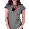 Nevermore Logo Womens Fitted T-Shirt