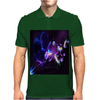 New 3D Abstract! Mens Polo