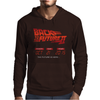 New Back To The Future Ii Future Is Here Mens Hoodie
