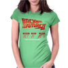 New Back To The Future Ii Future Is Here Womens Fitted T-Shirt