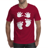 New Born Baby Mens T-Shirt