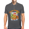 New Christmas Beary Naughty Mens Polo