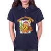 New Christmas Beary Naughty Womens Polo