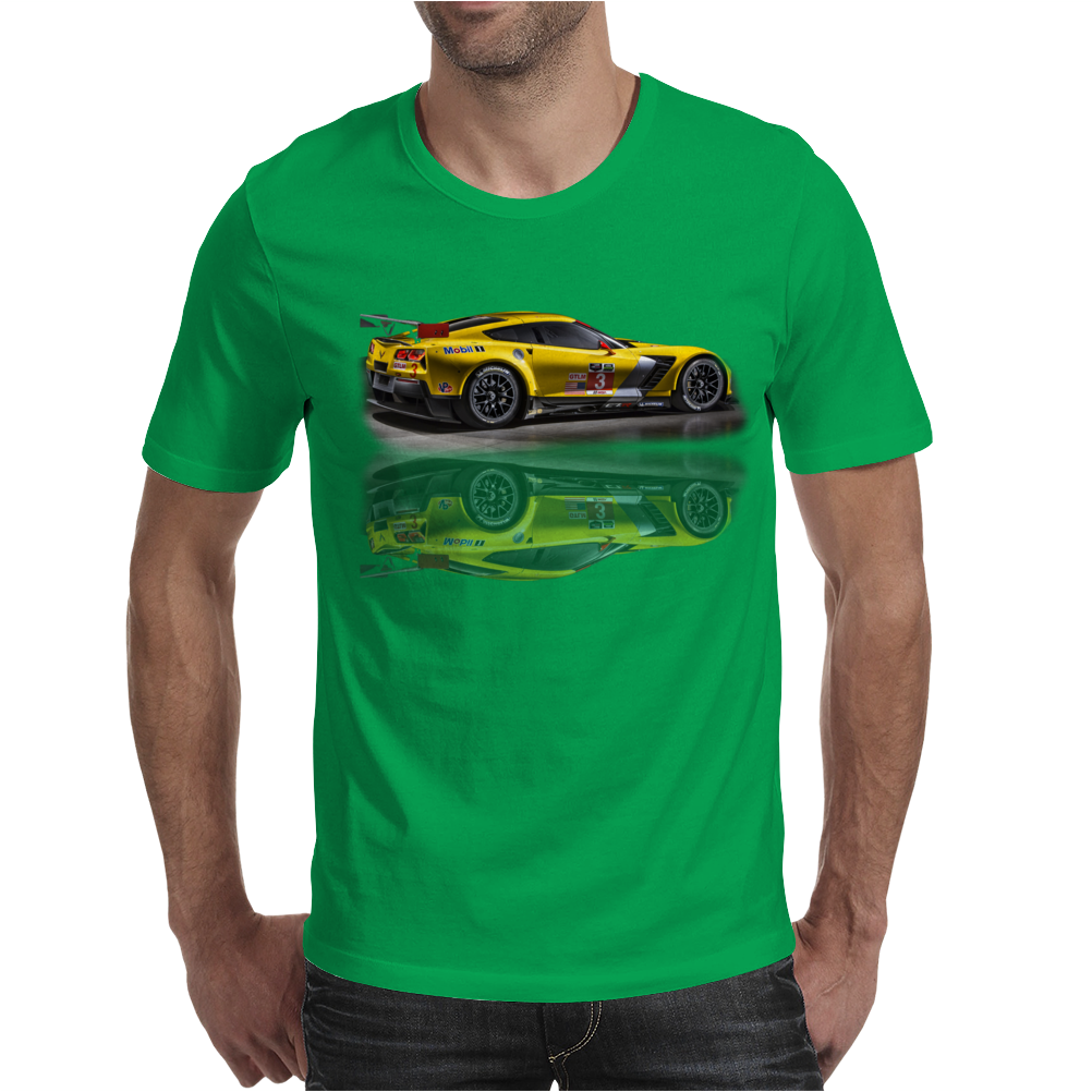 New Corvette Racing Z06 Mens T-Shirt