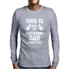 New Daddy Christmas Funny Mens Long Sleeve T-Shirt