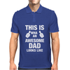 New Daddy Christmas Funny Mens Polo