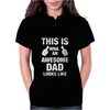 New Daddy Christmas Funny Womens Polo