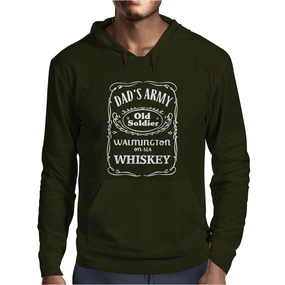 New ~Dad's Army Home Guard Inspired Mens Hoodie
