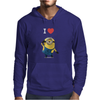 New Despicable Me Minions I Love You Print Women t-shirt White Camisole Vest Mens Hoodie