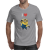 New Despicable Me Minions I Love You Print Women t-shirt White Camisole Vest Mens T-Shirt