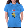 New Despicable Me Minions I Love You Print Women t-shirt White Camisole Vest Womens Polo