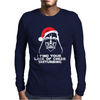 New Funny Darth Vader Star Wars Themed Christmas Mens Long Sleeve T-Shirt