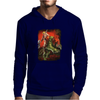 New He Man On Battle Cat Masters Of The Universe Mens Hoodie