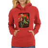 New He Man On Battle Cat Masters Of The Universe Womens Hoodie