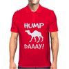 New HUMP DAY funny Mens Polo