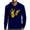 New JOHNNY BRAVO Mens Hoodie